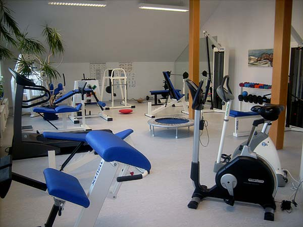 Trainingstherapie-Raum